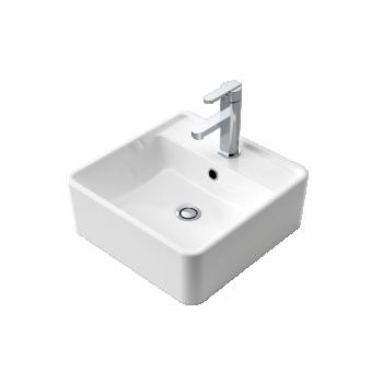 Caroma Carboni Ii Above Counter Ceramic Basin 1Th
