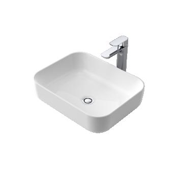 Caroma Artisan Above Counter Basin Rectangle 490Mm 0Th
