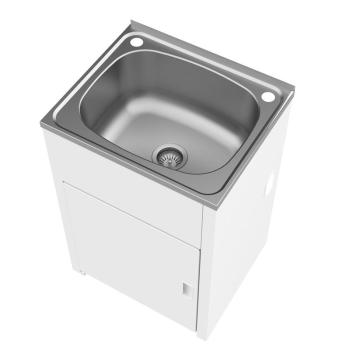 Clark 42L Utility Tub & Cabinet S/S