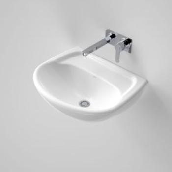 Caroma Wall Basin Caravelle 550 White 3Th (639030W)