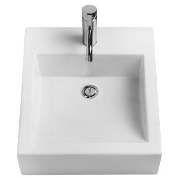 Caroma Liano Basin 420X470 Above Counter Nth White (664405W)