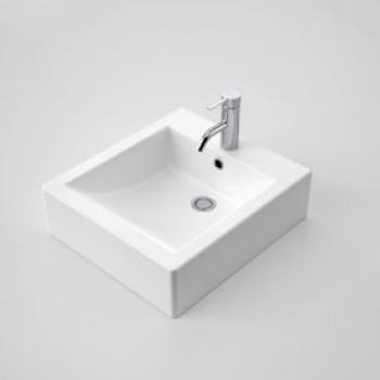 Caroma Liano Basin 420X470 Above Counter 1Th White (664415W)