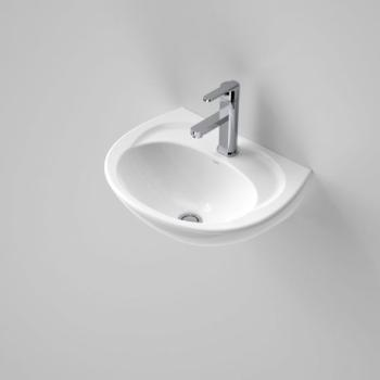 Caroma Wall Basin Concorde 500 White 1Th (631010W)