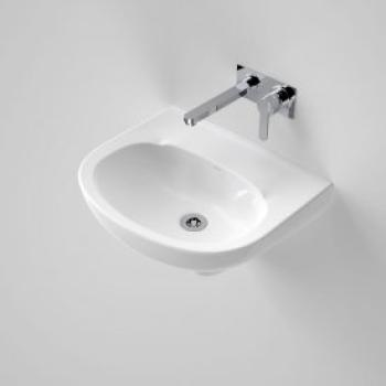 Caroma Wall Basin Integral Trap 500 White 1Th (648210W)