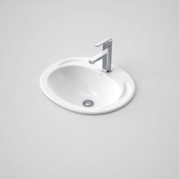Caroma Vanity Basin Concorde 500 1Th White (654110W)