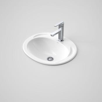 Caroma Vanity Basin Concorde 500 3Th White (654130W)