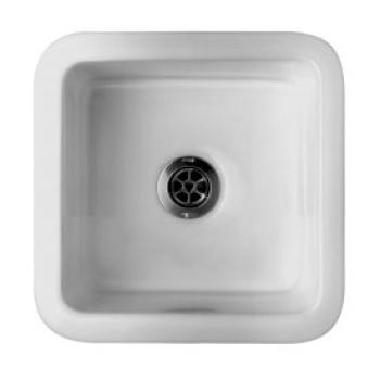 Caroma Laboratory Sink 375X375 Medium White (674102W)
