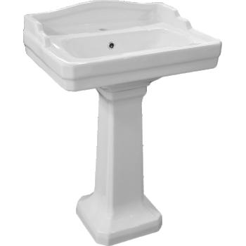 Johnson Suisse - Colonial Wall Basin & Pedestal