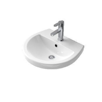 Caroma Cosmo Ceramic Wall Basin
