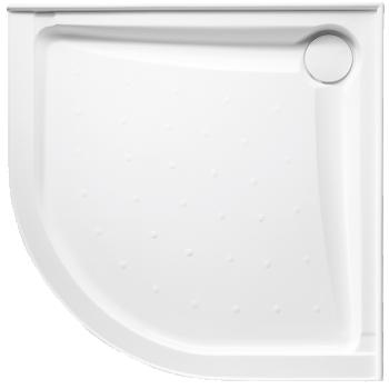 Johnson Suisse - Evo Polymarble Curved Shower Base