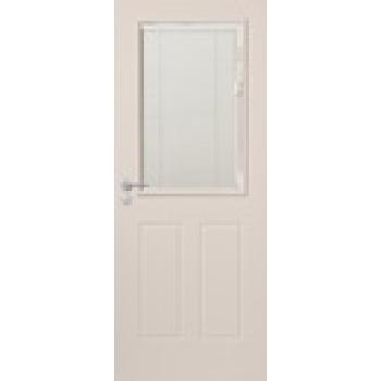 Exterior Door Venetion Primed Interblind IBP2 2040x820x40mm