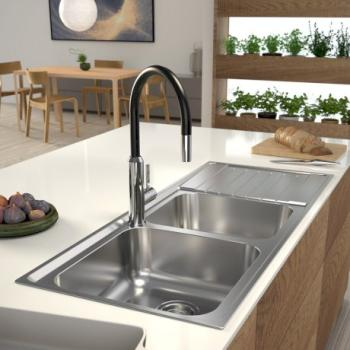 CLARK HORIZON 1.75 SINK SS LHB 1TH (HR3107.1L)
