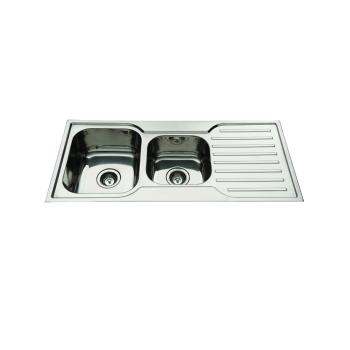 Everhard Squareline Sink 1080Mm 1Th Bowl & 3/4