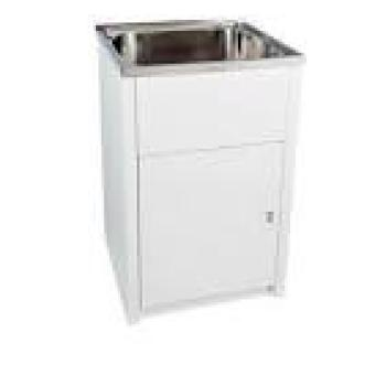 EVERHARD 40LT S/S LAUNDRY TUB & CABINET (70200}
