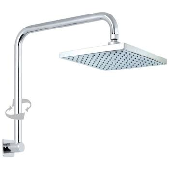 Con-Serv Quewb Crane Neck Arm Shower Chrome