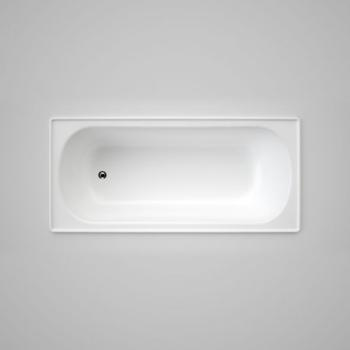 Caroma Stirling 1675Mm Steel Bath Standard White (857511W)