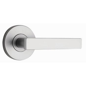 Lever Passage Set Round 65Mm Tovetto Brushed Satin Or Polished Chrome