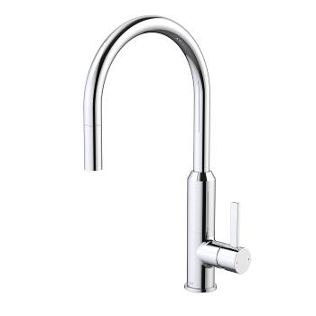 DORF VIXEN RETRACTABLE SINK MIXER CHROME (6494.044A)