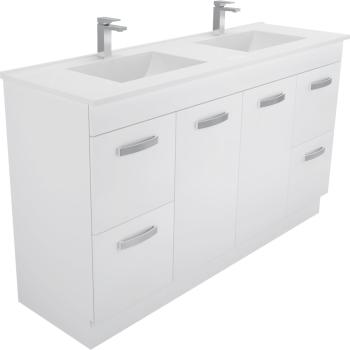 Fienza Vanessa 1500Mm Uni Cab Vanity On Kick 1Th
